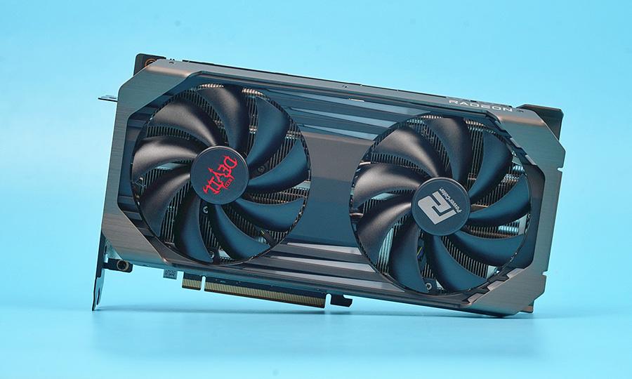 外形低调的顶级非公!撼迅RX 6600 XT红魔评测:1080p太屈才了