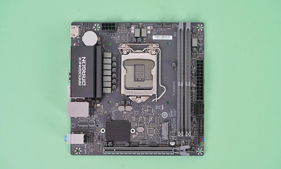 用心做的小板!梅捷狂龙H510-ITX评测:做工不输699元的主板