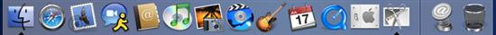 Windows 7任务栏对比苹果Mac Dock