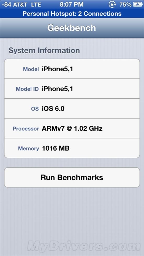 真的无敌!iPhone 5 CPU/GPU性能详测