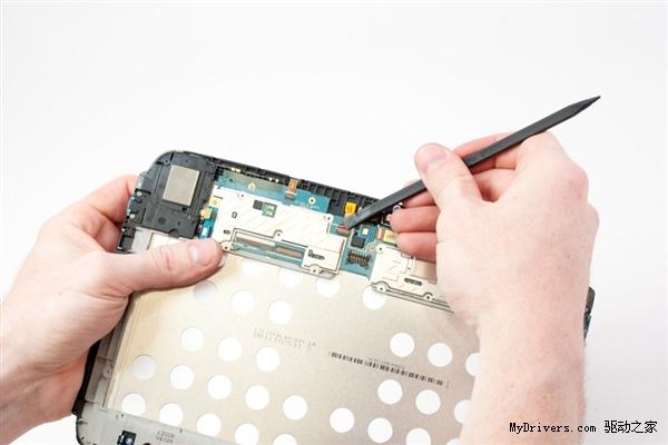 Google Nexus 10平板大卸八块