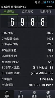 千元级四核芯片 高通MSM8x25Q性能评测