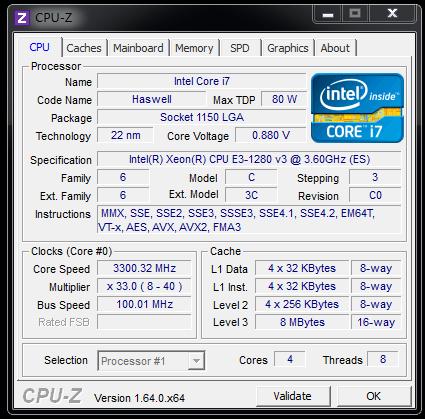 新神器怎么样?E3-1230 V3模拟测试