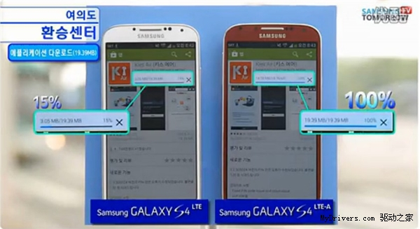 网速测试:骁龙800版Galaxy S4究竟有多快?
