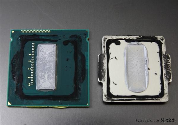 Core i7-4770K开盖、超频试验:该死的硅脂