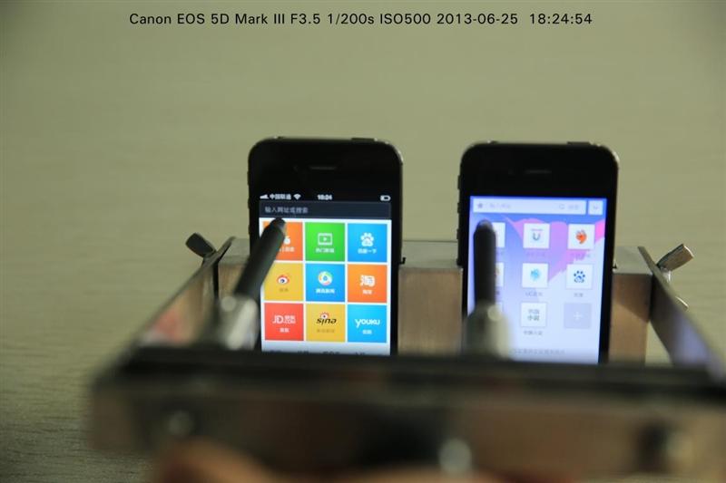 双叉神器+5D Mark III疯狂测试:谁是最快的手机浏览器?