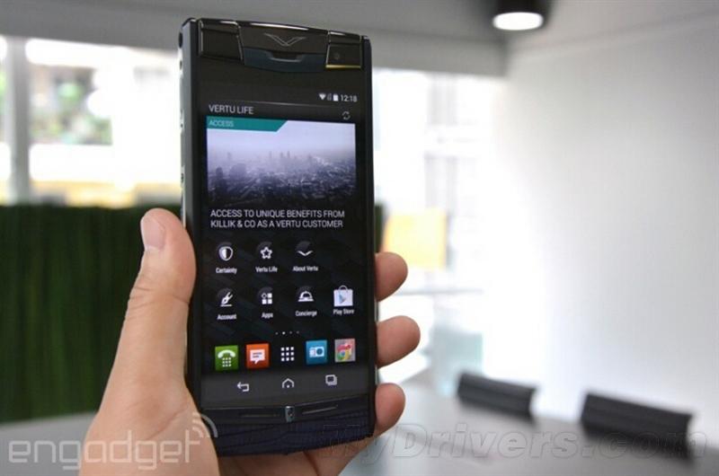 Vertu Signature Touch要价12万超奢华手机体验的照片 - 3