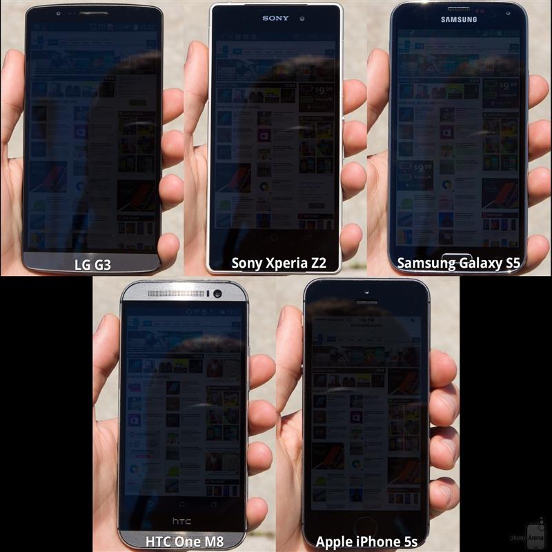 五大旗舰手机屏幕比拼 究竟谁才是第一?的照片 - 2