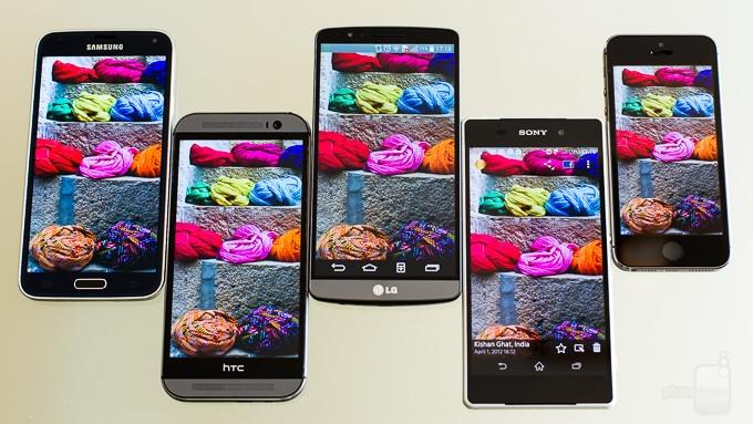 五大旗舰手机屏幕比拼 究竟谁才是第一?的照片 - 27