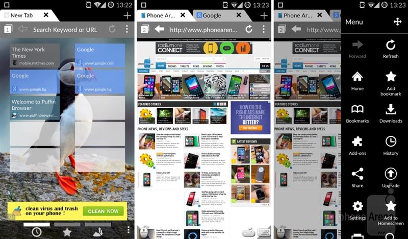 评测:十大浏览器混战Android平台 谁最棒?的照片 - 9