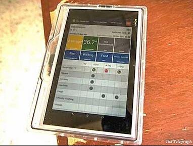 埃博拉疫区专用平板曝光:百毒不侵