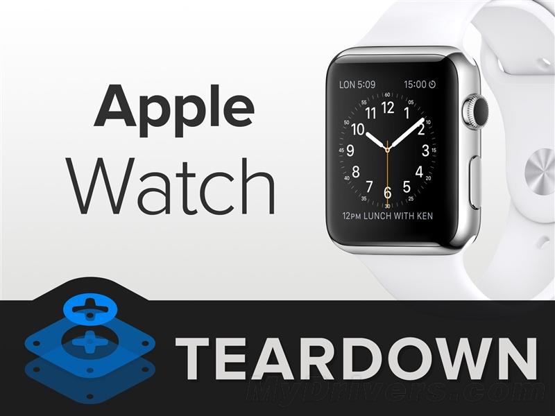 Apple Watch详尽拆解:电池太失望了!