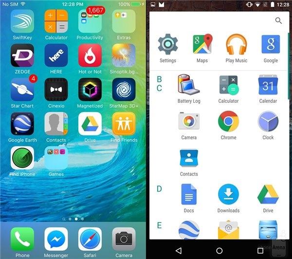 Android M与iOS 9上手评测对比:就差虚拟键了的照片 - 5