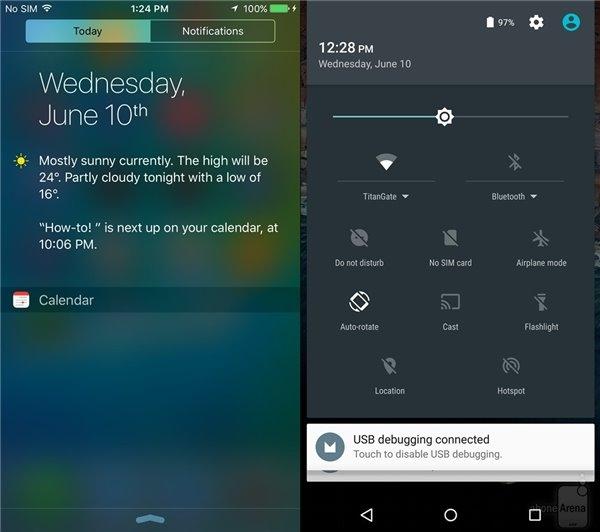 Android M与iOS 9上手评测对比:就差虚拟键了的照片 - 7