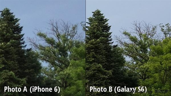 拍照盲测比拼:三星Galaxy S6完胜iPhone 6!
