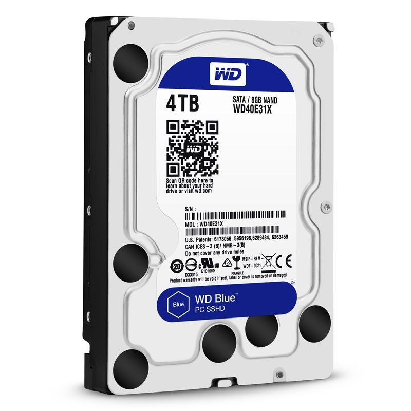 WD西数4TB蓝盘SSHD混合硬盘全方位评测的照片 - 37