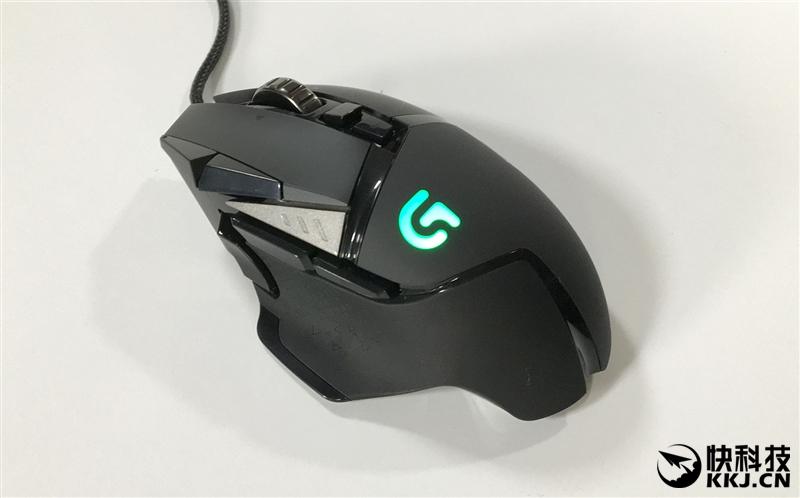 游戏神鼠炫光进化!449元罗技G502 RGB款评测