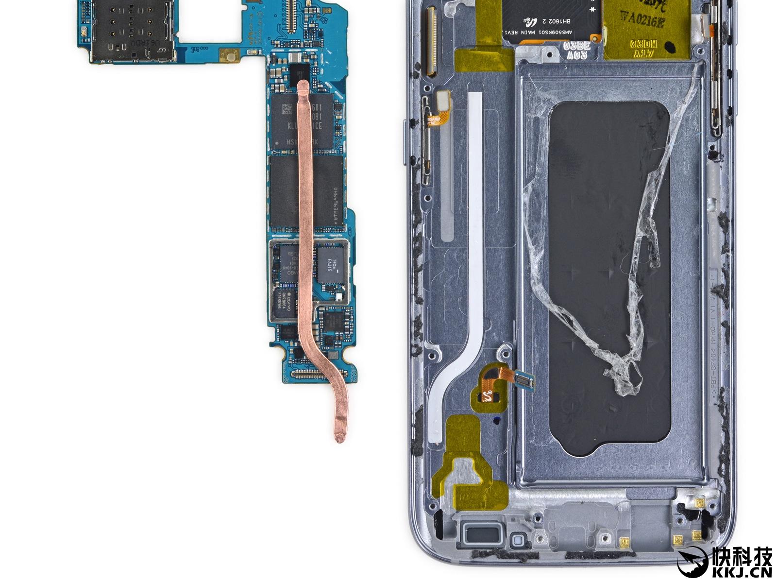 三星galaxy s7完全拆解:最美手机最怕摔