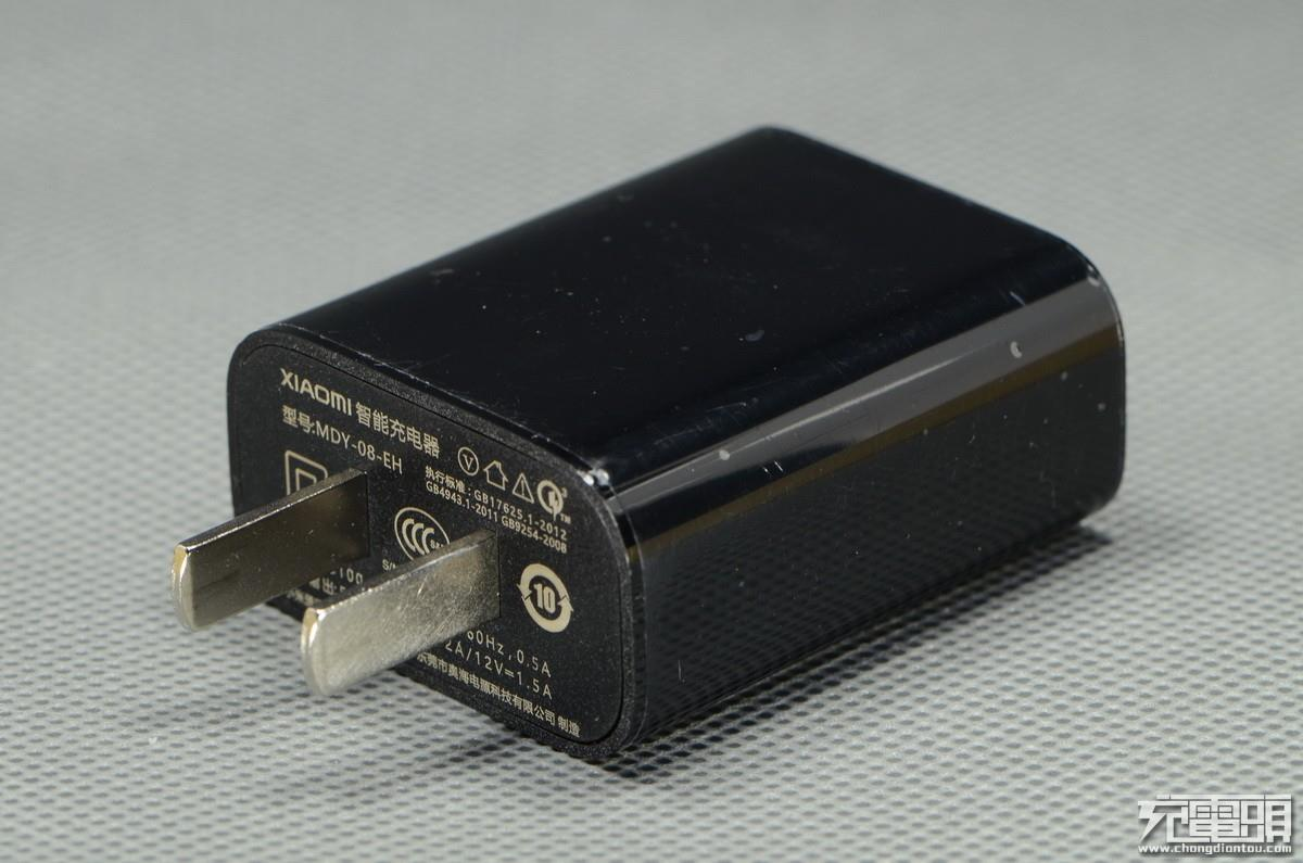 小米5标配充电器拆解测试:做工扎实