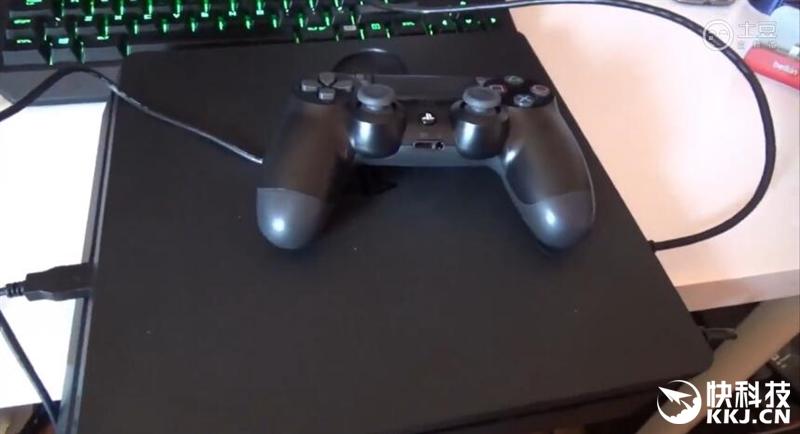 PS4 Slim上手评测:新款DualShock 4手柄赞