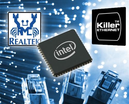 千兆板载网卡实测PK:高通Killer E2500游戏神器 虐Intel