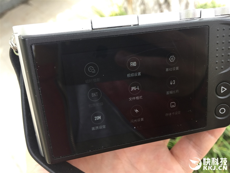 小蚁微单相机M1评测:操作易用堪比手机
