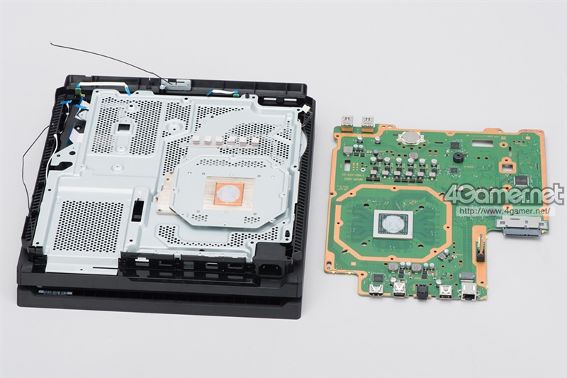 PS4 Pro主板解析:GPU大变!性能暴增