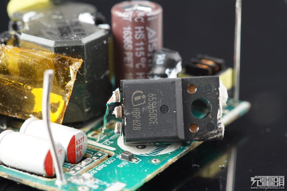 华为mate 9原装充电器拆解/评测:快充太猛