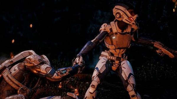 《质量效应:推女座》截图展示CG画质:EA寒霜3美翻了