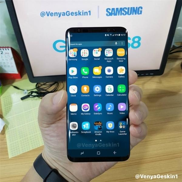 三星新旗舰S8配置完全曝光:6000元也要买!