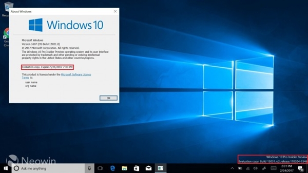Windows 10 Build 15042发布:RS2临近了