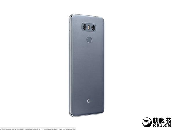 LG G6正式发布:18:9屏幕惊艳 可惜是骁龙821