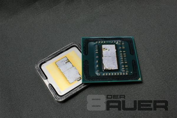 AMD Ryzen处理器惨遭开盖!比Intel厚道N倍