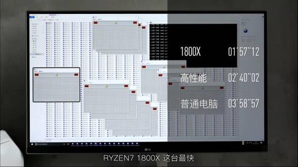 一口气打开2000个扫雷要多久?AMD彻底逆天了