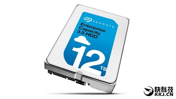全球第二款!希捷12TB硬盘终于出样:充氦企业级