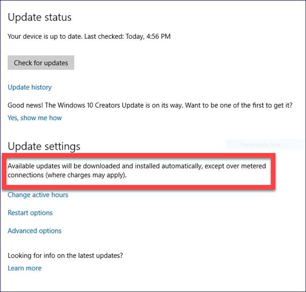Windows 10更新调整:这个模式自动下载少量必要更新