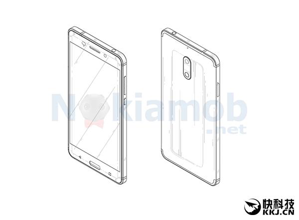 保护伞到手:HMD成功拿下Nokia 6设计专利