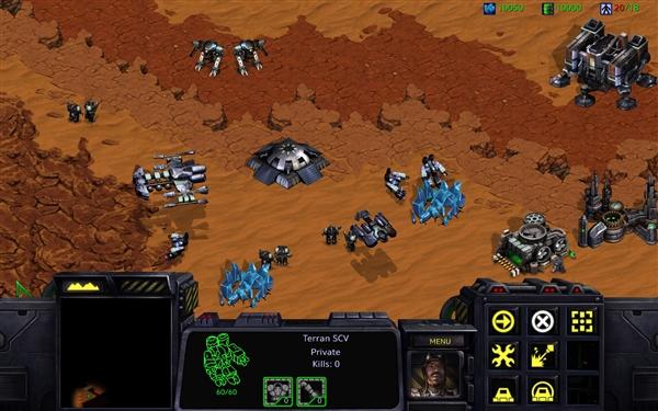 《星际争霸》高清重制版画面对比:差异明显的照片 - 5