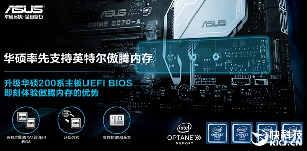 华硕主板率先支持Intel黑科技 一步搞定