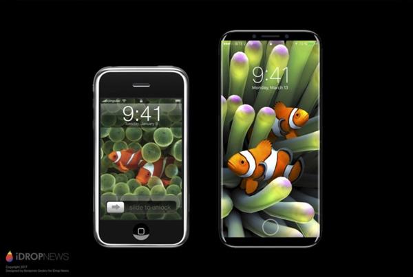 指纹识别后置?iPhone 8最新消息曝光:脑洞大开