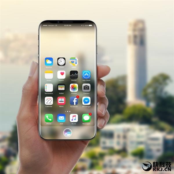 真干掉Home键!苹果专利泄漏天机:iPhone 8外形惊艳