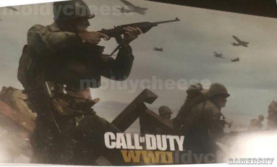 《使命召唤14》未删减版新图曝光:二战血肉战场