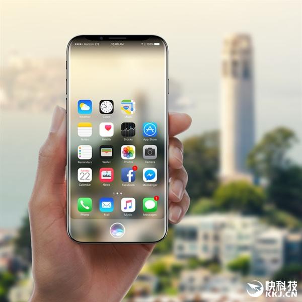 对比三星S8:苹果iPhone 8就是这样:屏幕更平