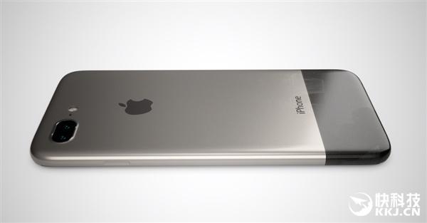 iphone 8复古设计:无边框屏