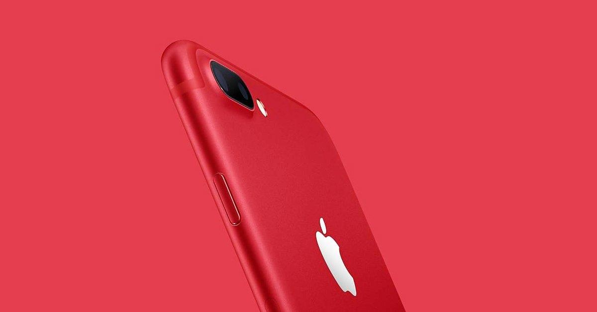 降价_红色iphone 7 plus大降价!史上最快