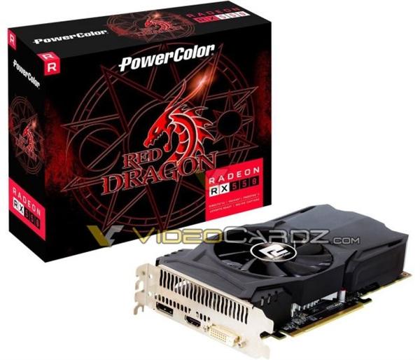 AMD RX 550入门独显现身:百元入手无压力