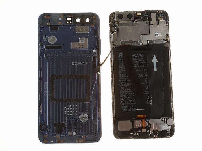 华为P10拆解:3788元比iPhone更精密!