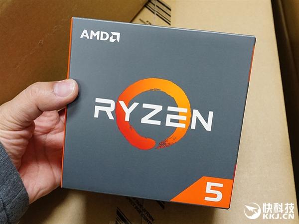 1299元Ryzen 5 1400开盖:AMD入门四核比Intel i7都良心