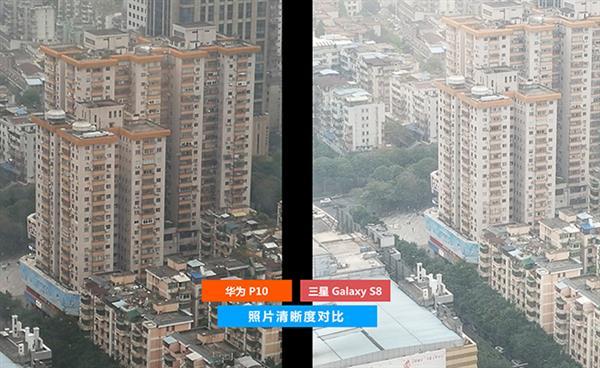 国行三星S8拍照对比华为P10:徕卡无损变焦逆袭
