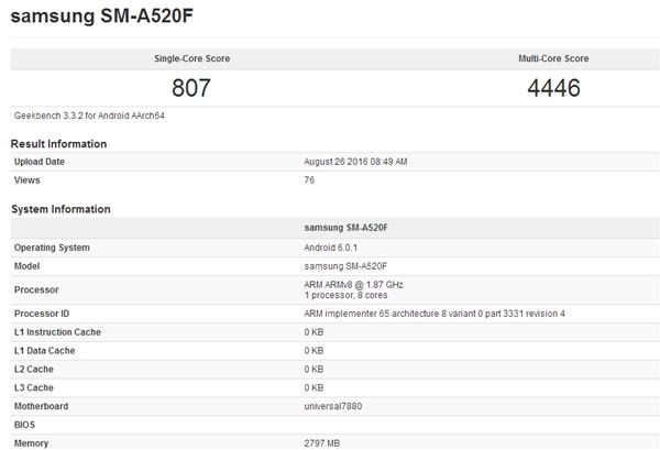 三星14nm八核Exynos 7880发布!功耗降36% 支持UFS2.0